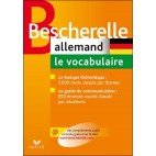 BESCHERELLE - ALLEMAND : LE VOCABULAIRE