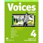Voices 4, Workbook