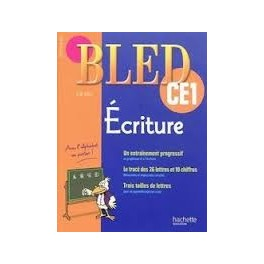 Cahier d'exercice BLED Ecriture CE1