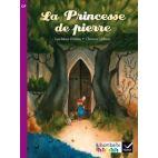 LA PRINCESSE DE PIERRE (ALBUM N 5) - RIBAMBELLE CP SERIE VIOLETTE ED. 2014