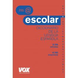 DIC.ESCOLAR DE LA LENGUA ESPAÑOLA VOX 18