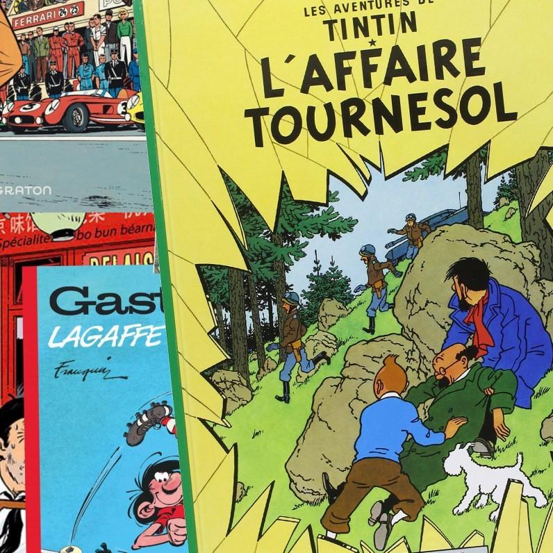 Comics en francés