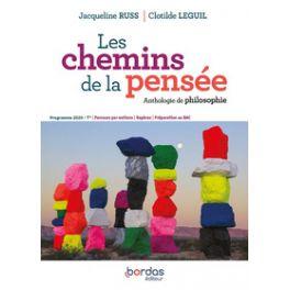 LES CHEMINS DE LA PENSEE PHILOSOPHIE TLES 2020 ANTHOLOGIE
